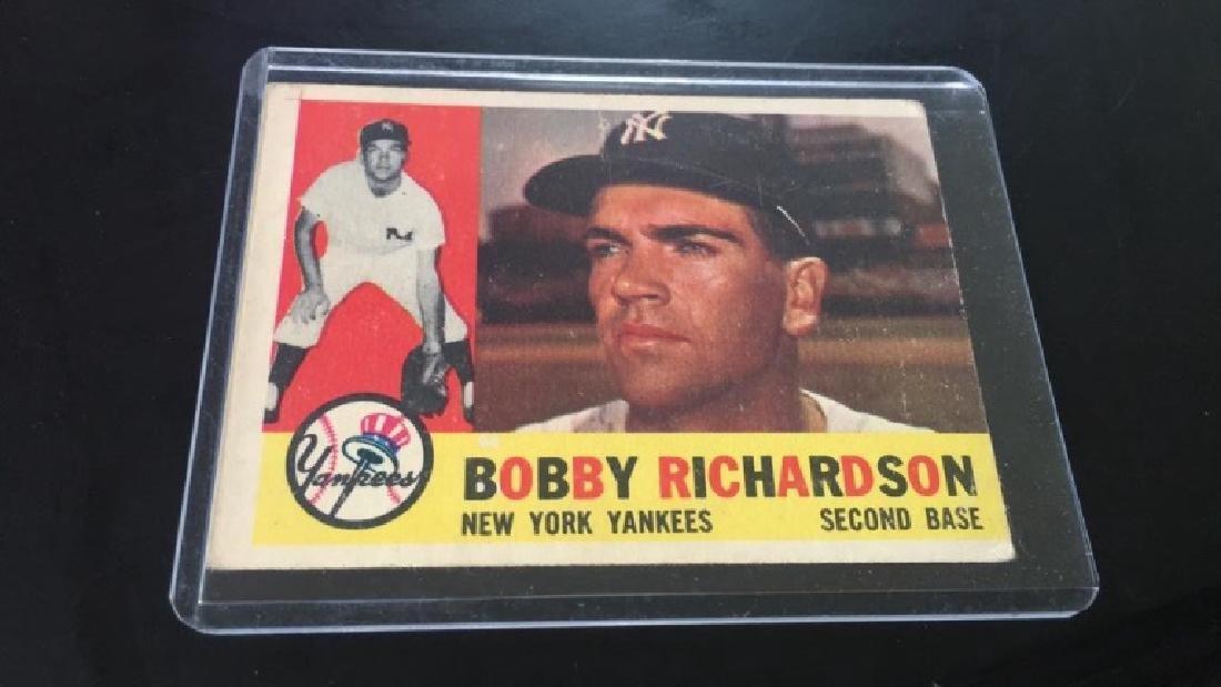 Bobby Richardson 1960 Topps
