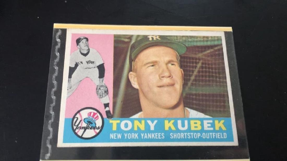 Tony Kubek 1960 Topps