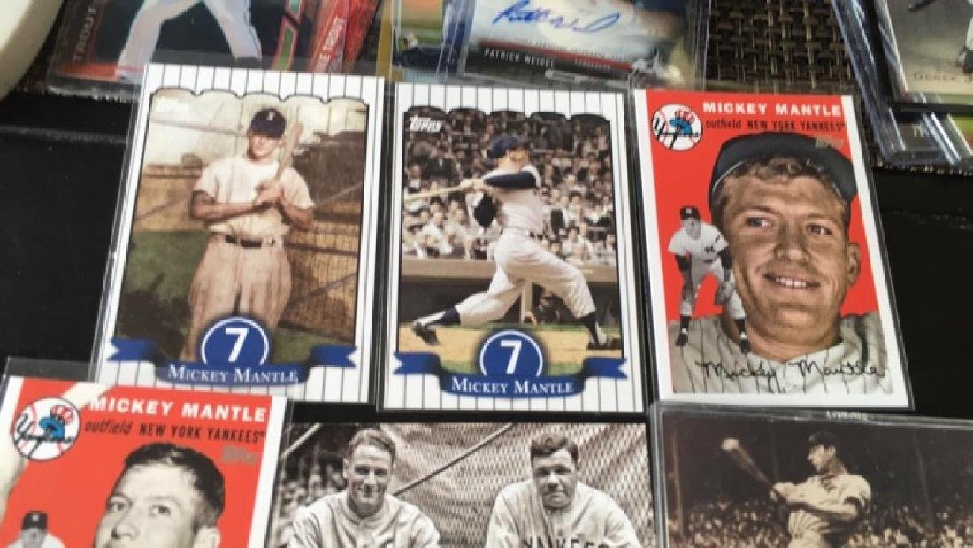 Mickey Mantle Lou Gehrig and Joe DiMaggio six - 3