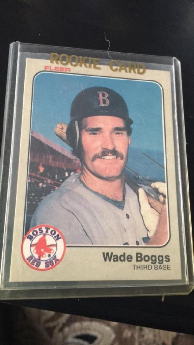 Wade Boggs 1983 Fleer RC