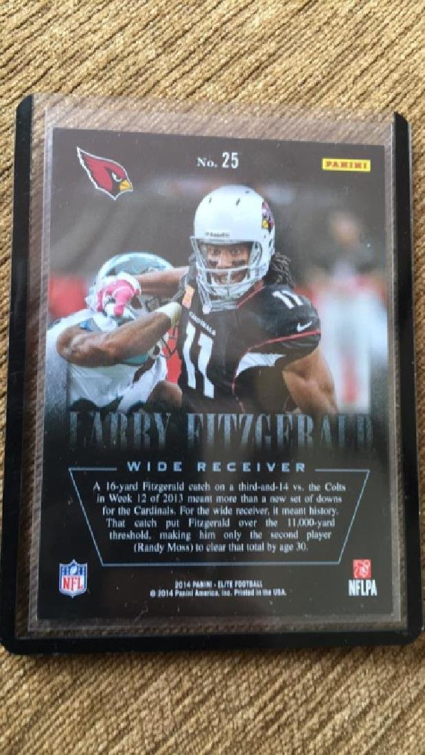 Larry Fitzgerald 2014 the legal legends of the - 2