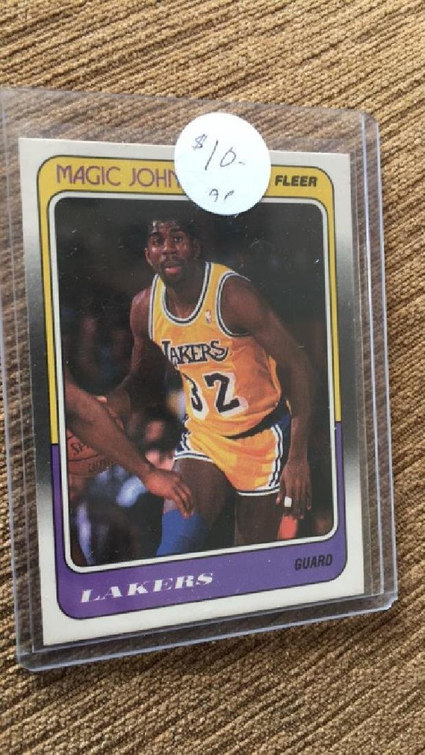 Magic Johnson 1988 fleer