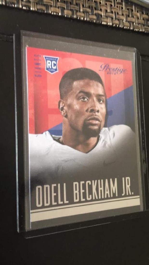 Odell Beckham Jr prestige RC