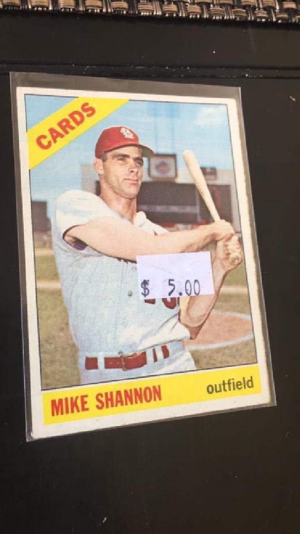 Mike Shannon 1966 Topps