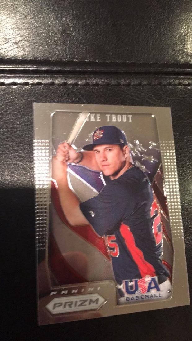 Mike Trout Prizm USA 2012