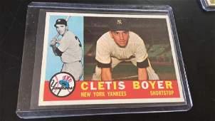 Cletis Boyer 1960 Topps