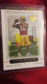 Aaron Rodgers 2005 Topps RC