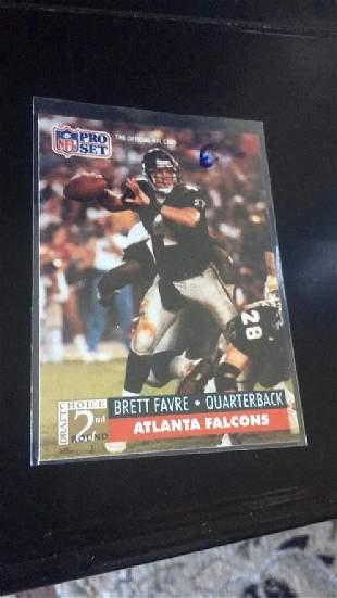 Brett Favre 1991 pro set RC