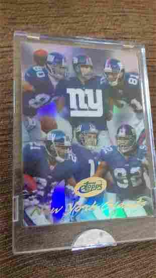 New York Giants E tops short print limited