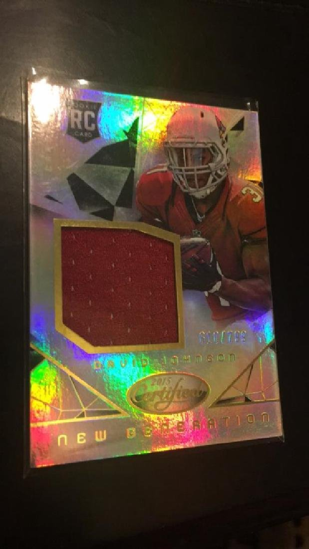 David Johnson certified RC jersey