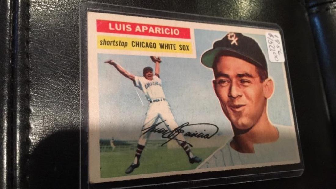 Luis Aparicio 1956 Topps RC in nice shape - 2