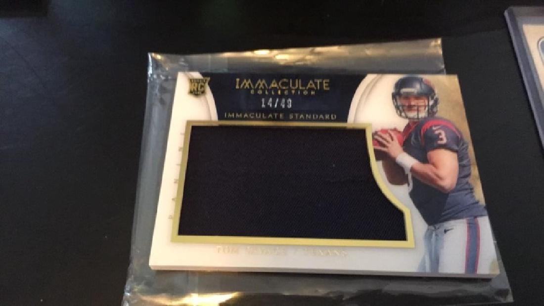 Tom Savage immaculate collection immaculate
