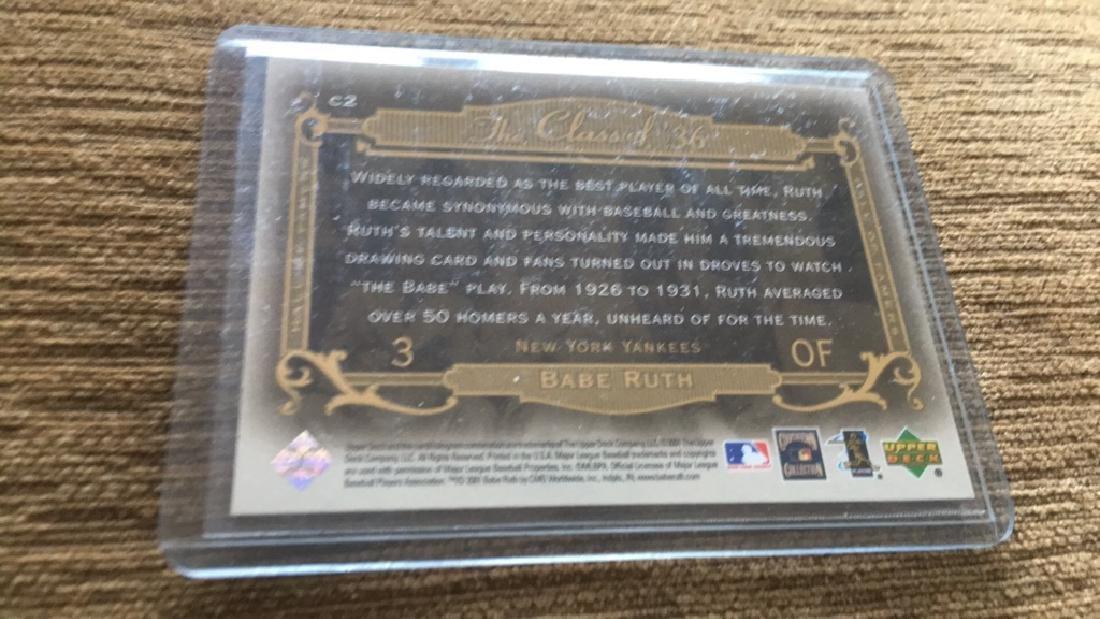 Babe Ruth the class of 36 insert upper deck - 2