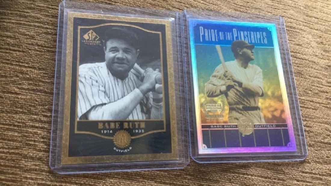 Babe Ruth 2000 1SP legendary cuts base cord and