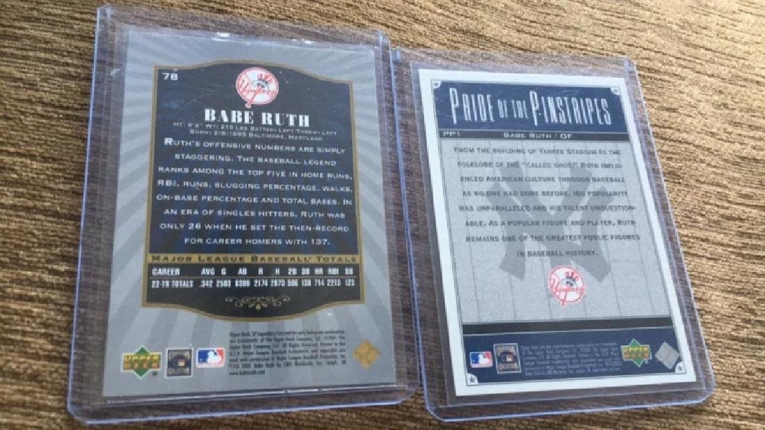 Babe Ruth 2000 1SP legendary cuts base cord and - 2