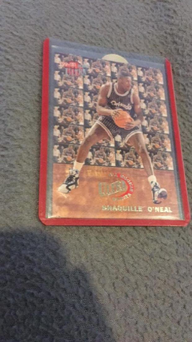 Shaquille O'Neal 1992 we are ultra rookie series