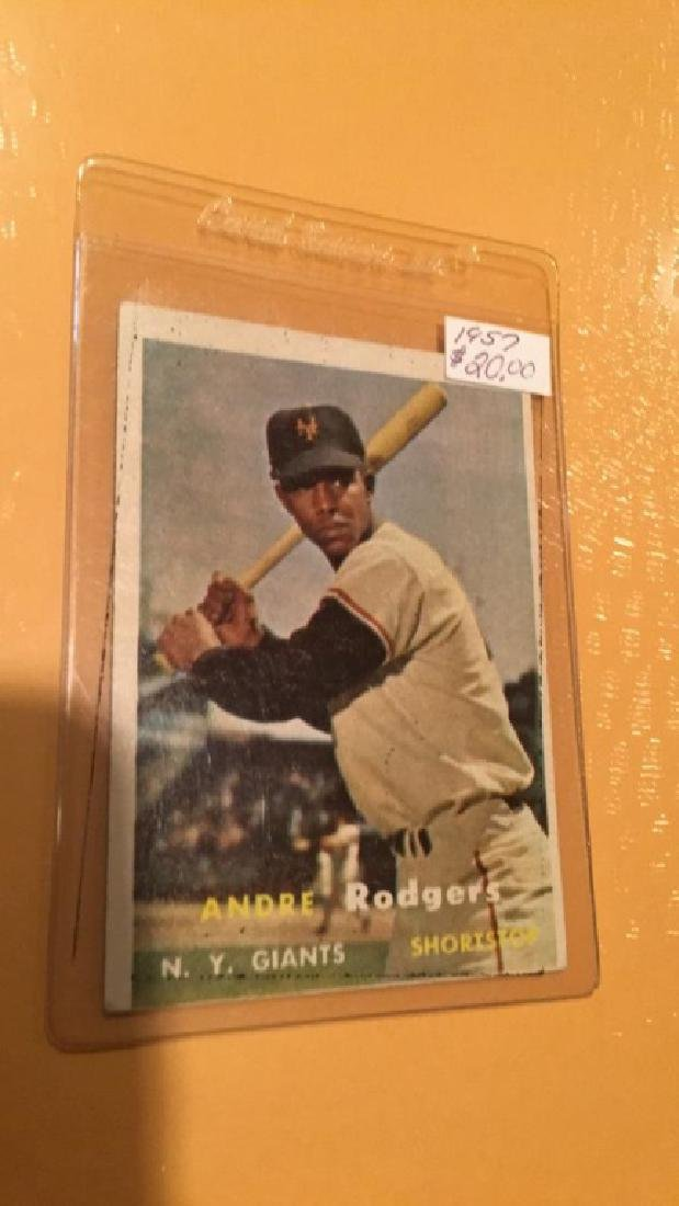 Andre Rodgers 1957 Topps
