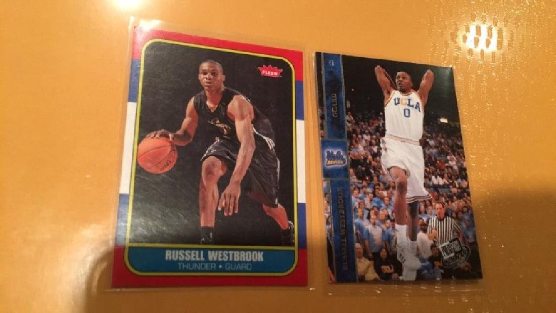 Russell Westbrook 2 card RC lot