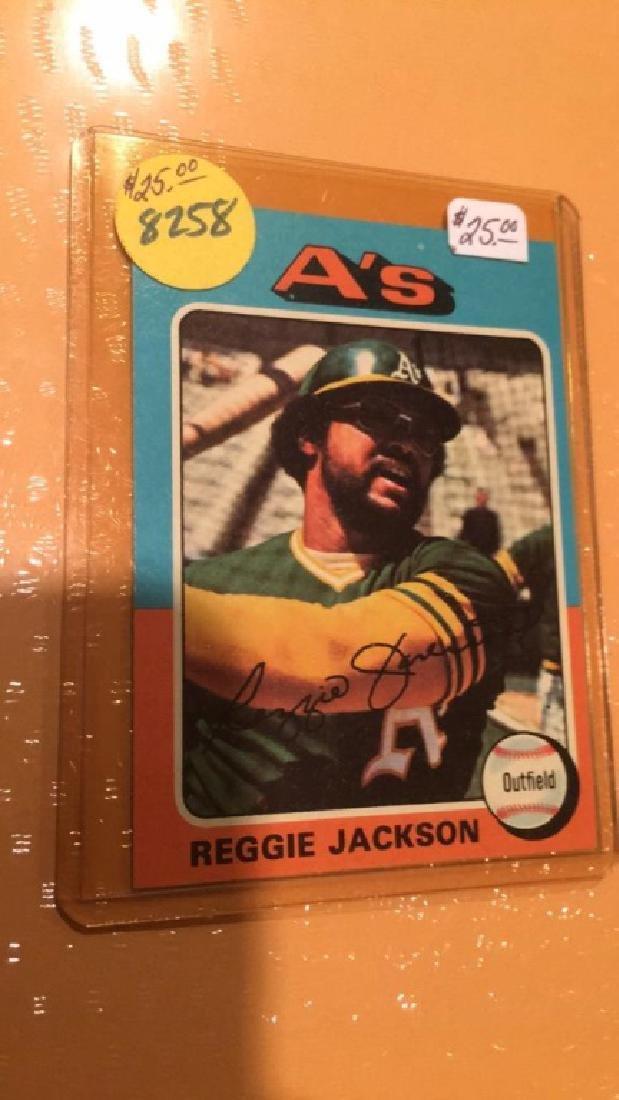 Reggie Jackson 1975 Topps