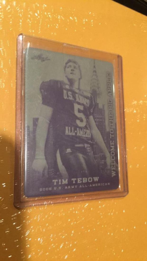 Tim Tebow welcome to the big apple black printing