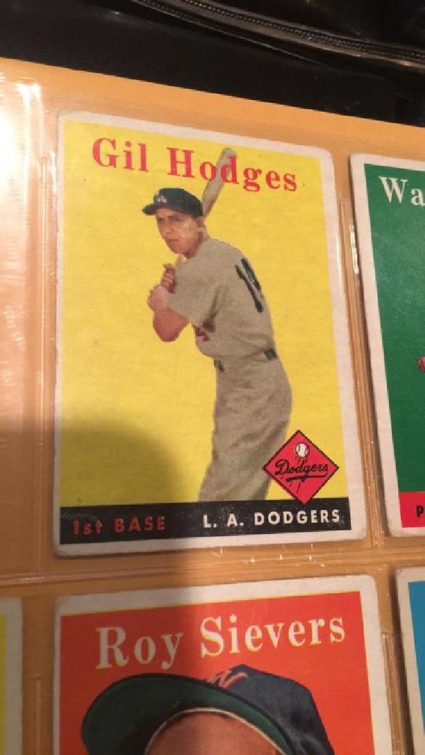 Gil Hodges 1958 Topps
