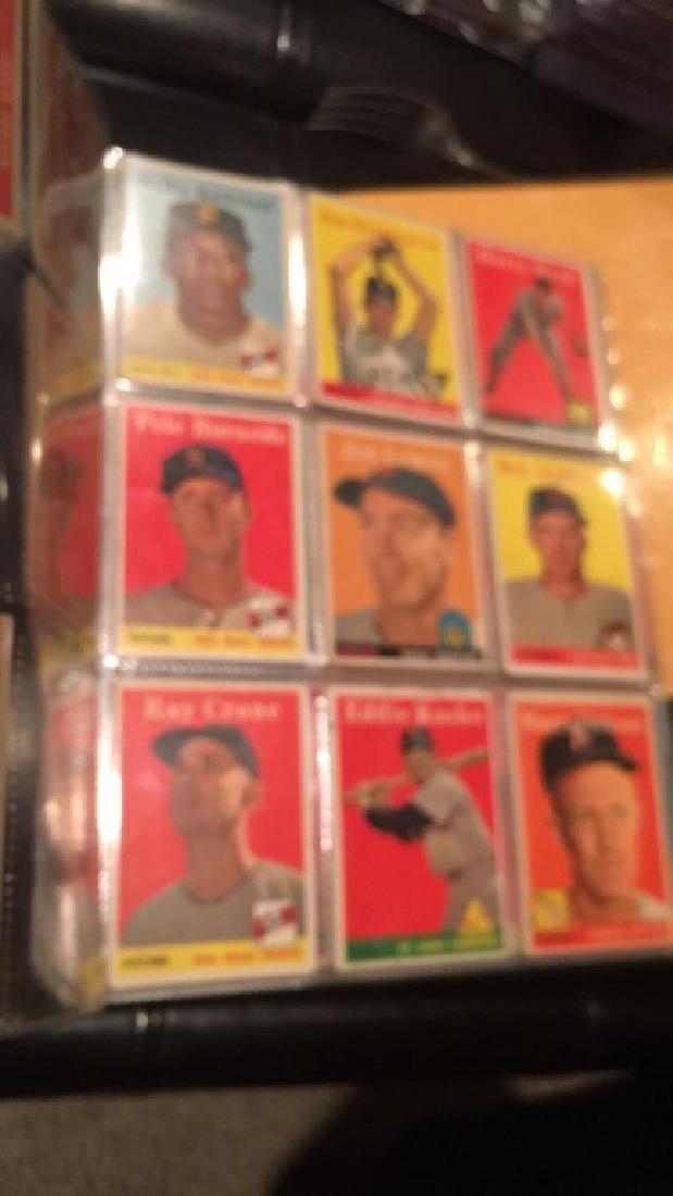 Huge lot of 57 vintage 1958 Topps Baseball cards - 2