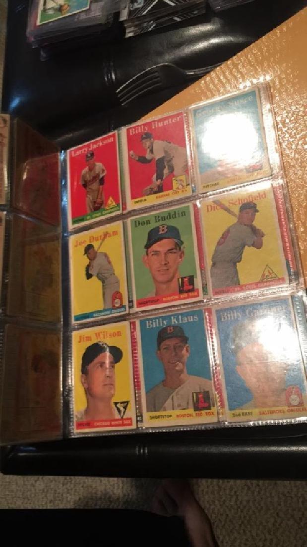 Huge lot of 57 vintage 1958 Topps Baseball cards - 3
