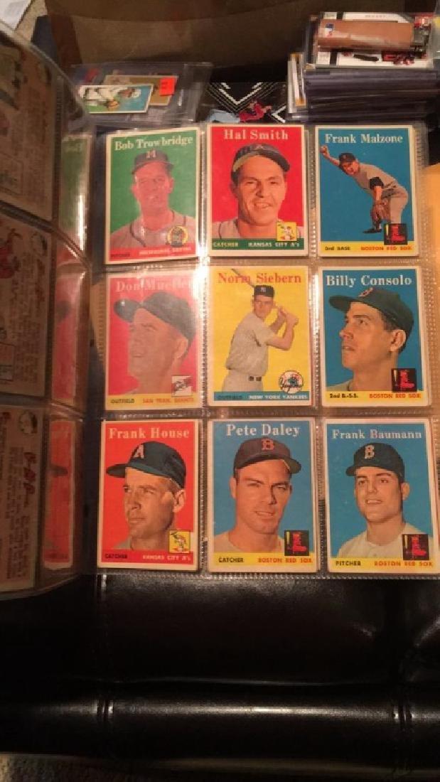 Huge lot of 57 vintage 1958 Topps Baseball cards - 6