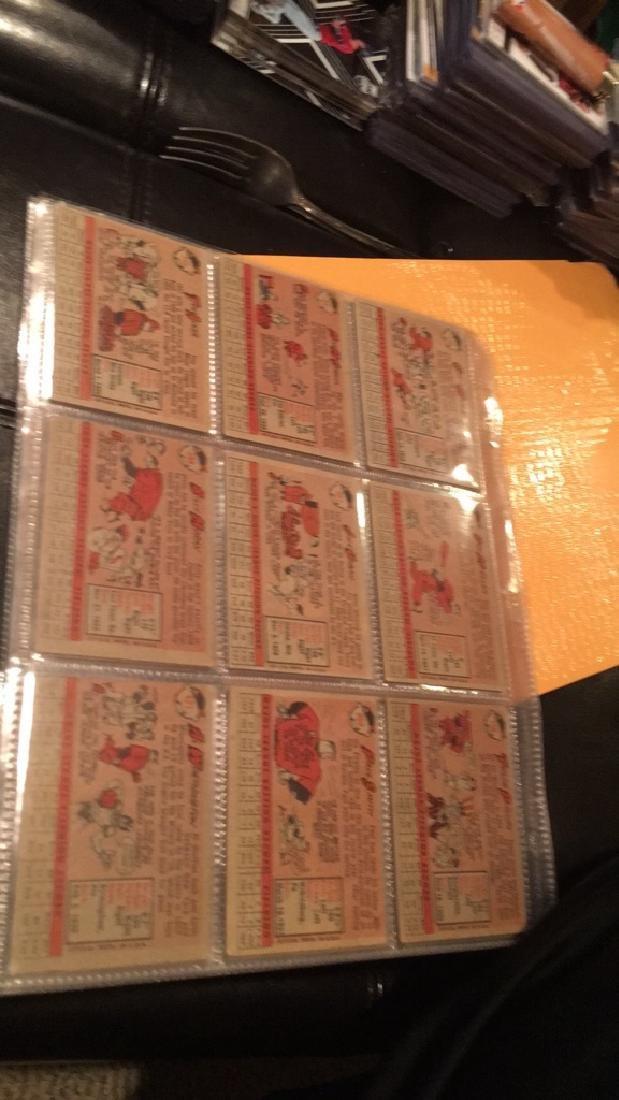 Huge lot of 57 vintage 1958 Topps Baseball cards - 8