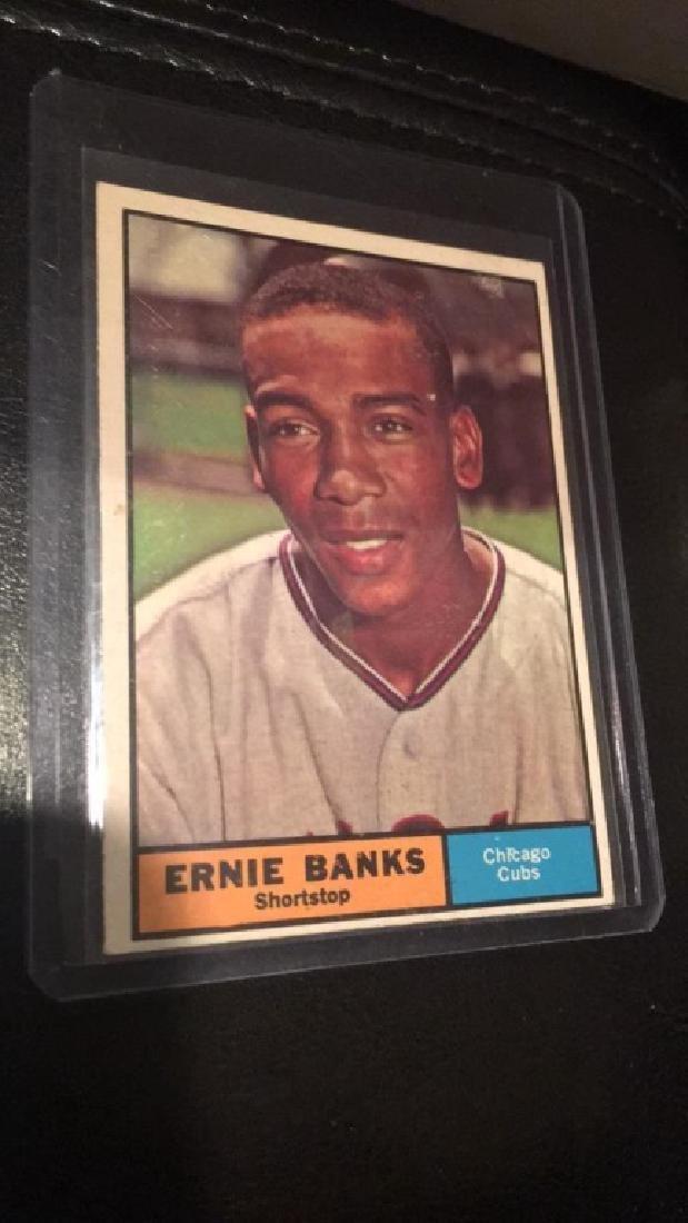 Ernie Banks 1961 Topps