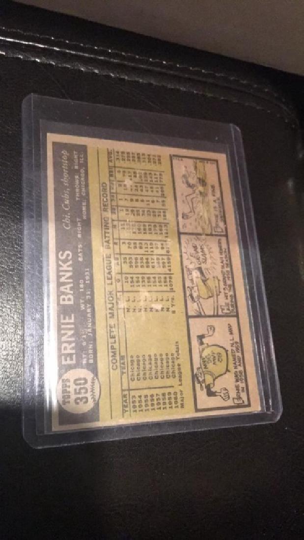 Ernie Banks 1961 Topps - 2