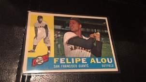 Felipe ALou 1961 Topps