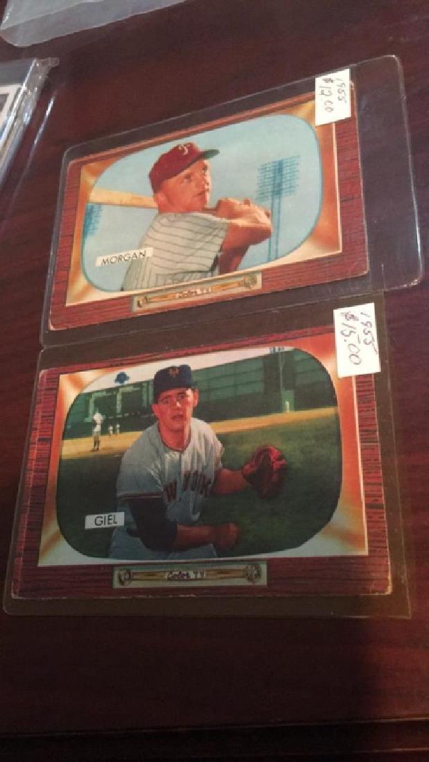 1955 Bowman vintage baseball card lot