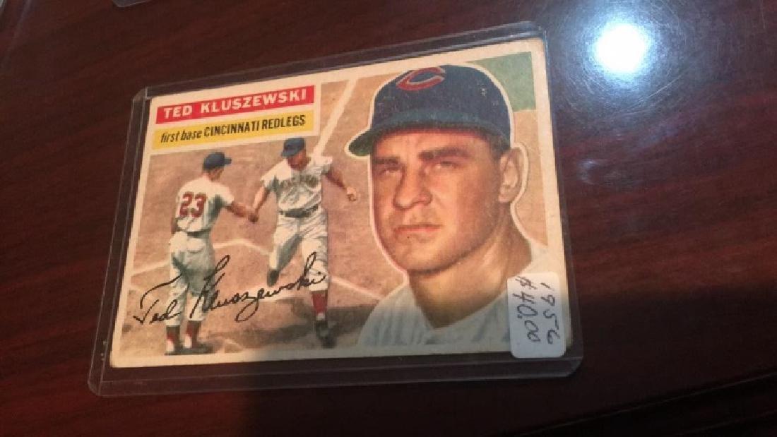 Ted Kluszewski 1956 Topps