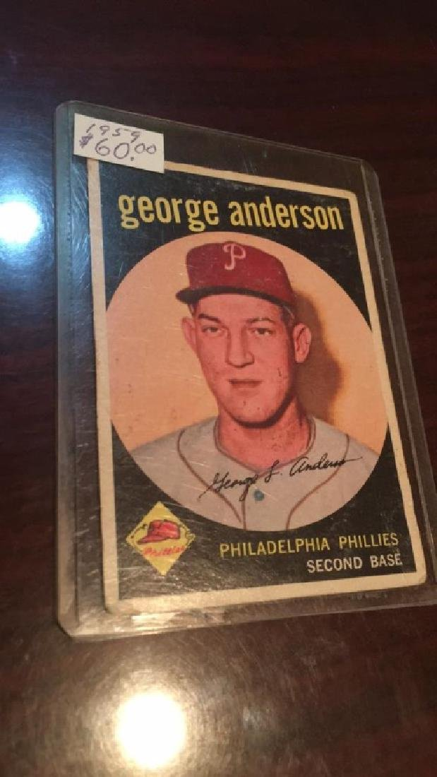 1959 Topps George Sparky Anderson