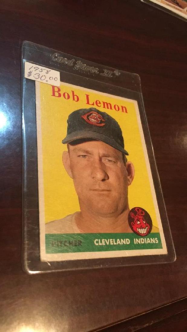 1958 Topps Bob Lemon