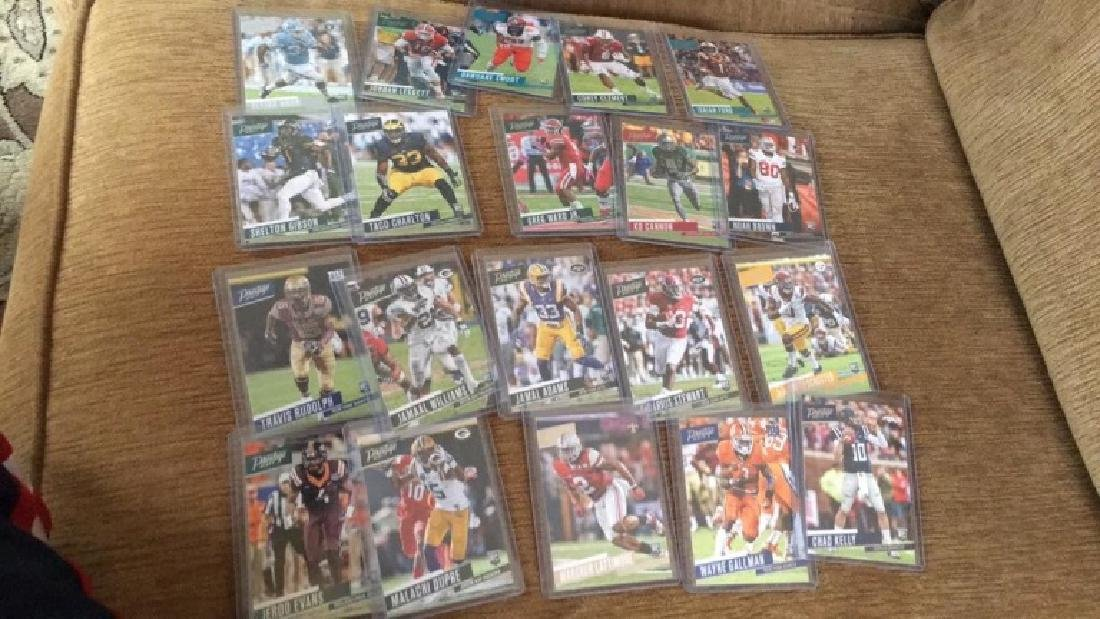 2017 prestige 20 card RC football lot: INVEST
