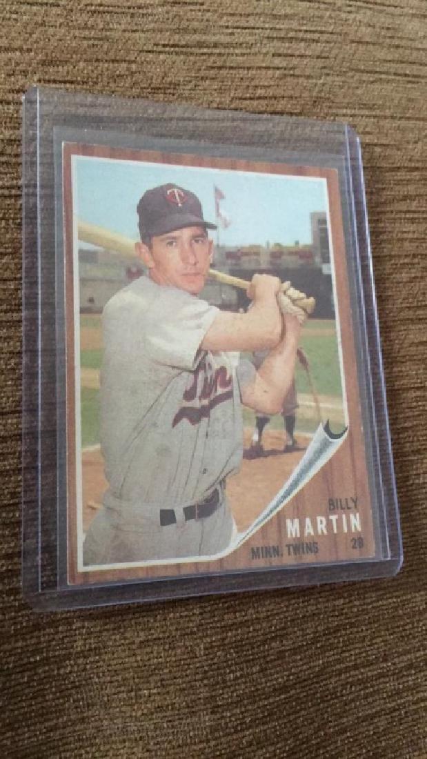 Billy Martin 1962 Topps