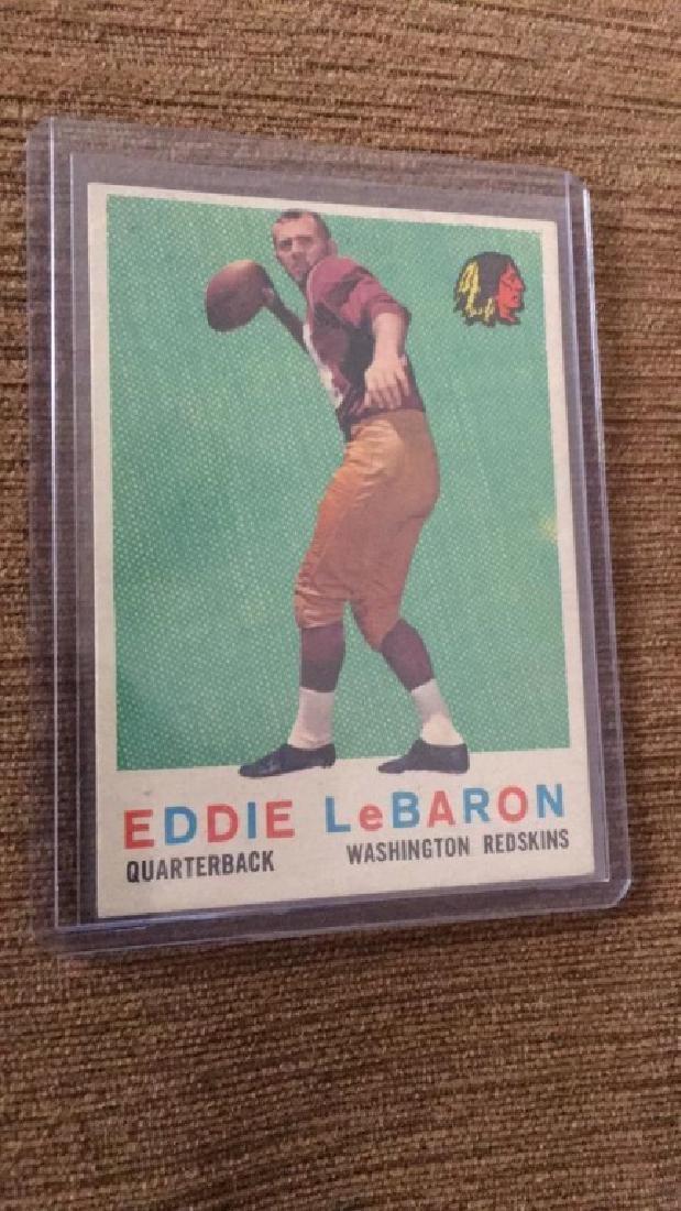 Eddie Lebaron 1959 Topps nice shape