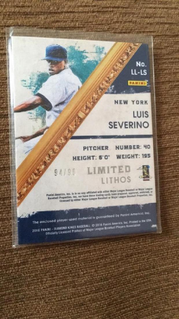 Luis Severino Diamond king limited lithos dual SP - 2