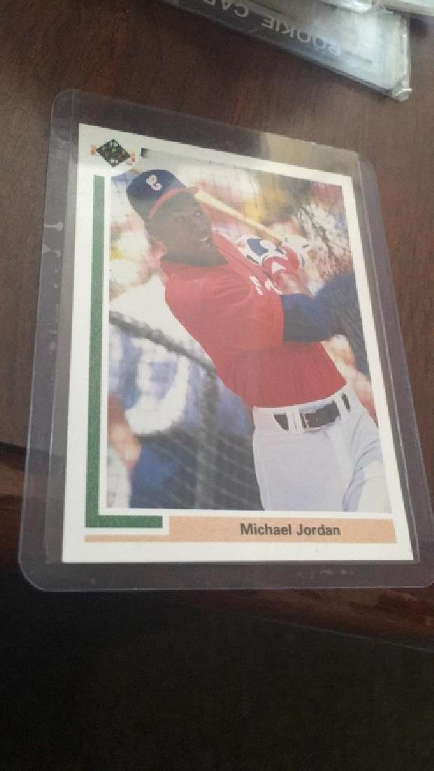 Michael Jordan 1991 upper deck SP baseball RC - 2