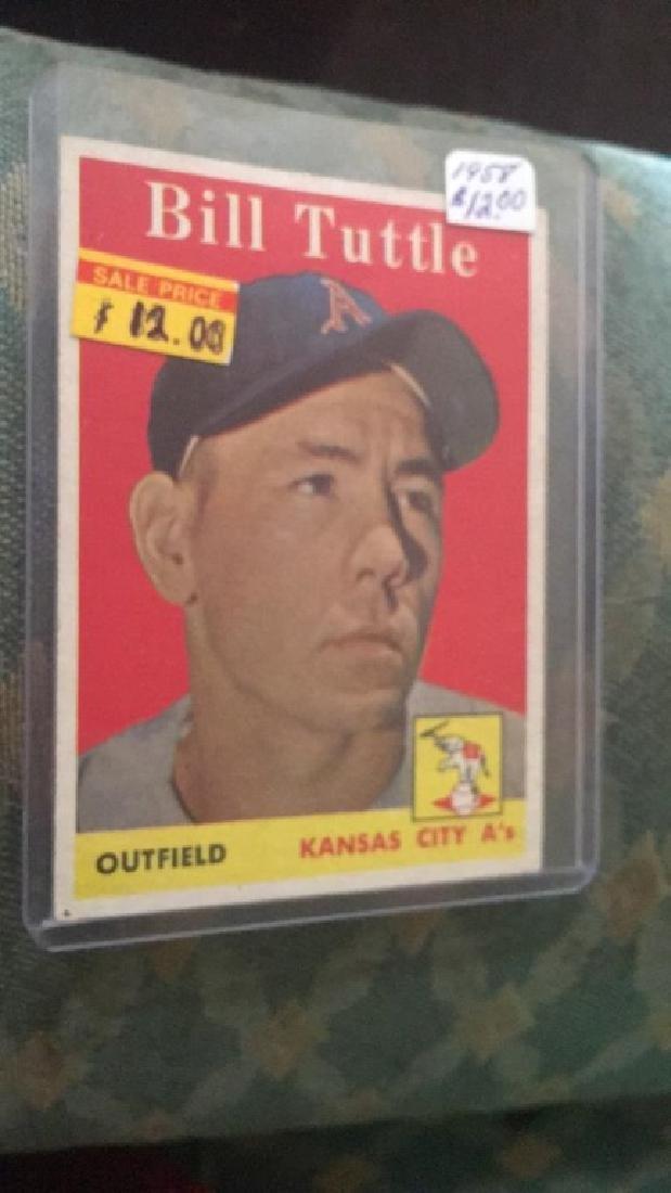 1958 Topps Bill Tuttle