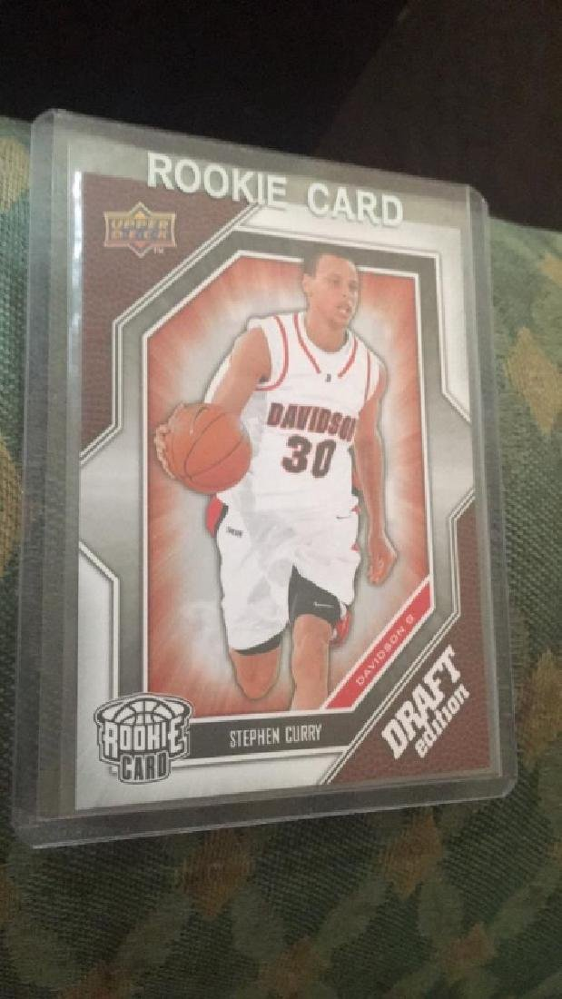 Steph Curry 2009-10 ud draft RC