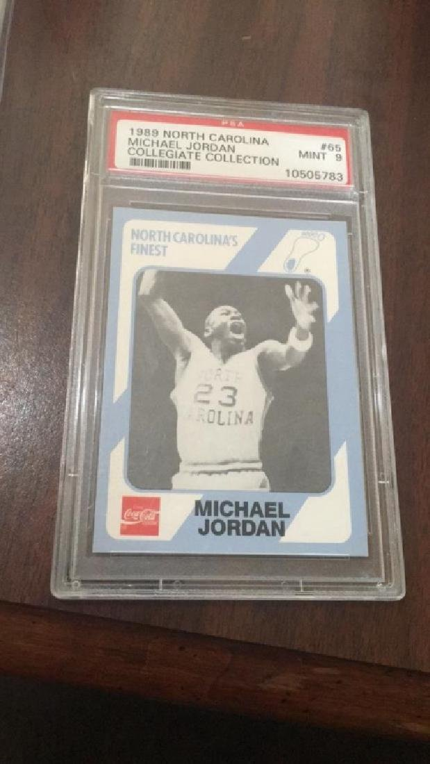 Michael Jordan 1989 North Carolina collegiate