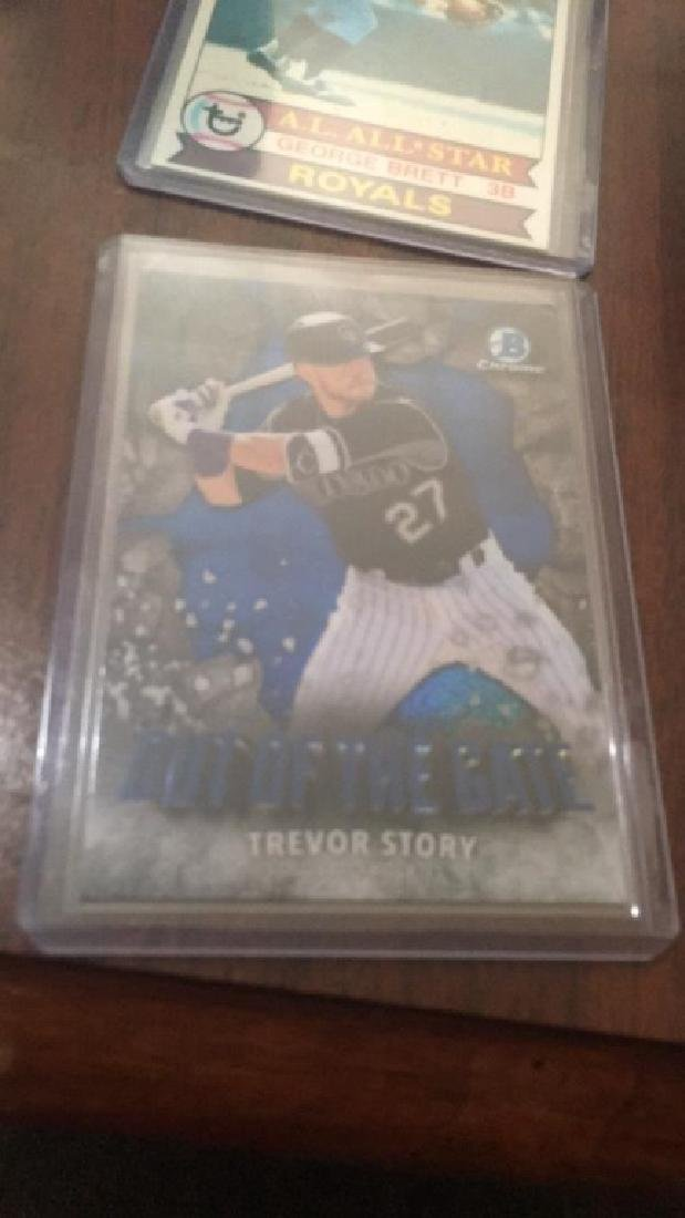 Trevor Story bowman chrome out of the gate sp RC