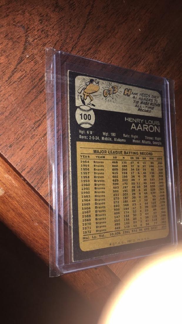 1973 Topps Hank Aaron - 2