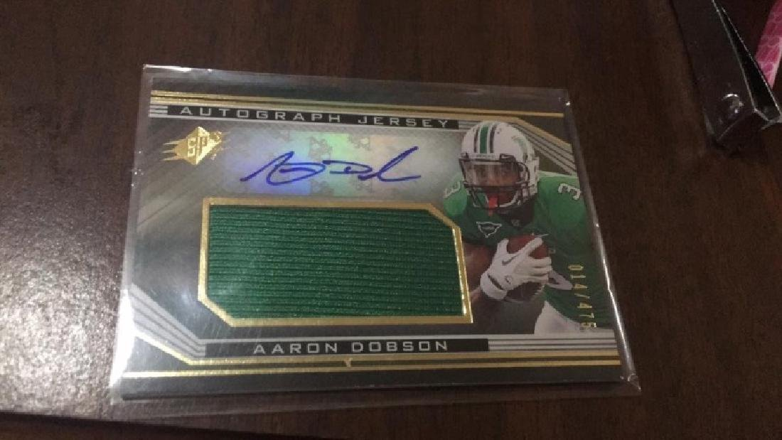 Aaron Dobson SPX patch RC