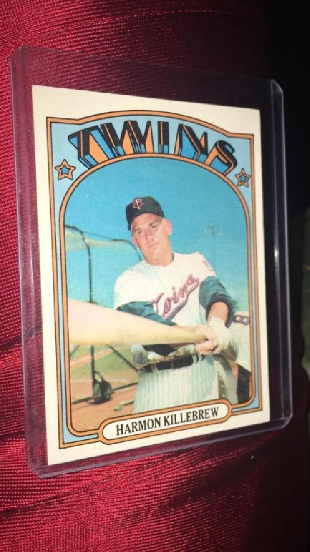Harmon Killebrew 1972 Topps