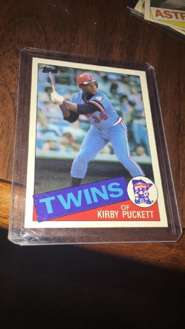 Kirby Puckett 1985 Topps RC
