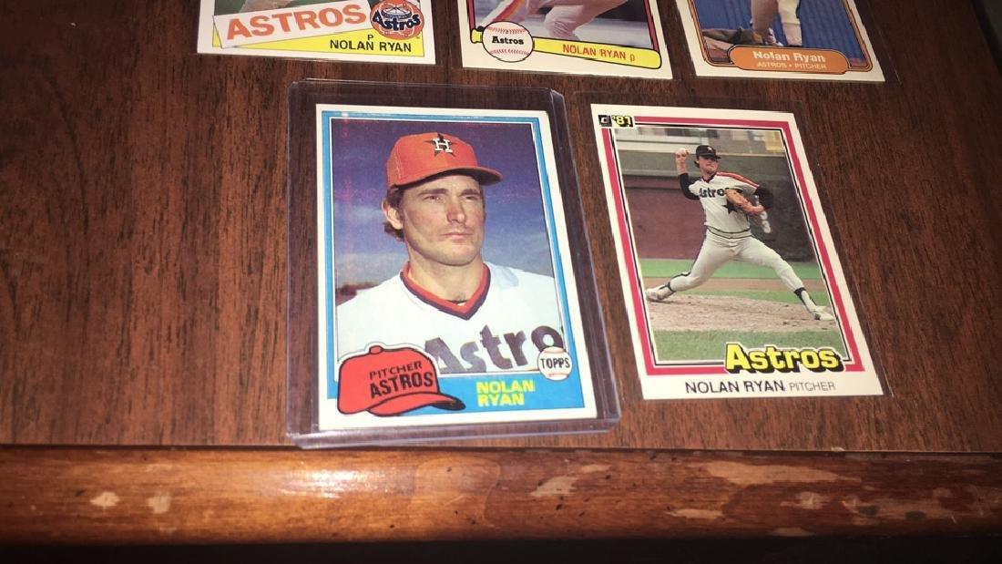 Nolan Ryan 1981 1982 1984 Baseball Card Lot - 3